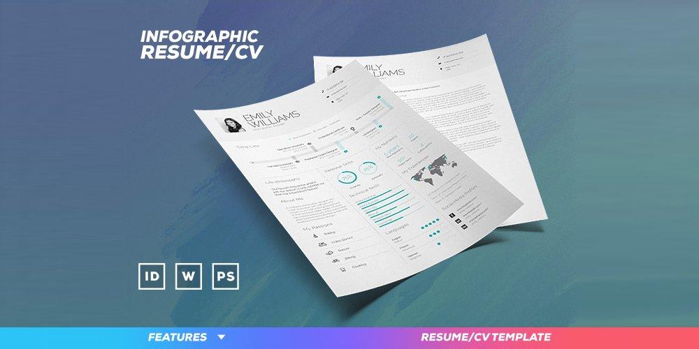 150 Free Resume  CV Templates Pixxel