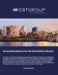 Real Estate Accounting & Tax Services Northern Virginia