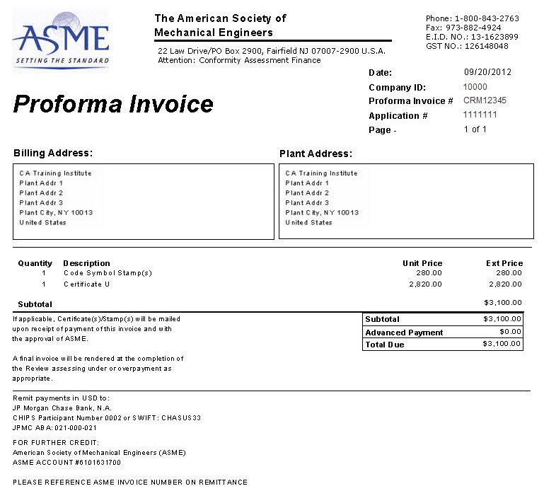 Export Invoice Sample – residers.info