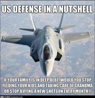 US Defense in a Nutshell @ PolitiComments.com