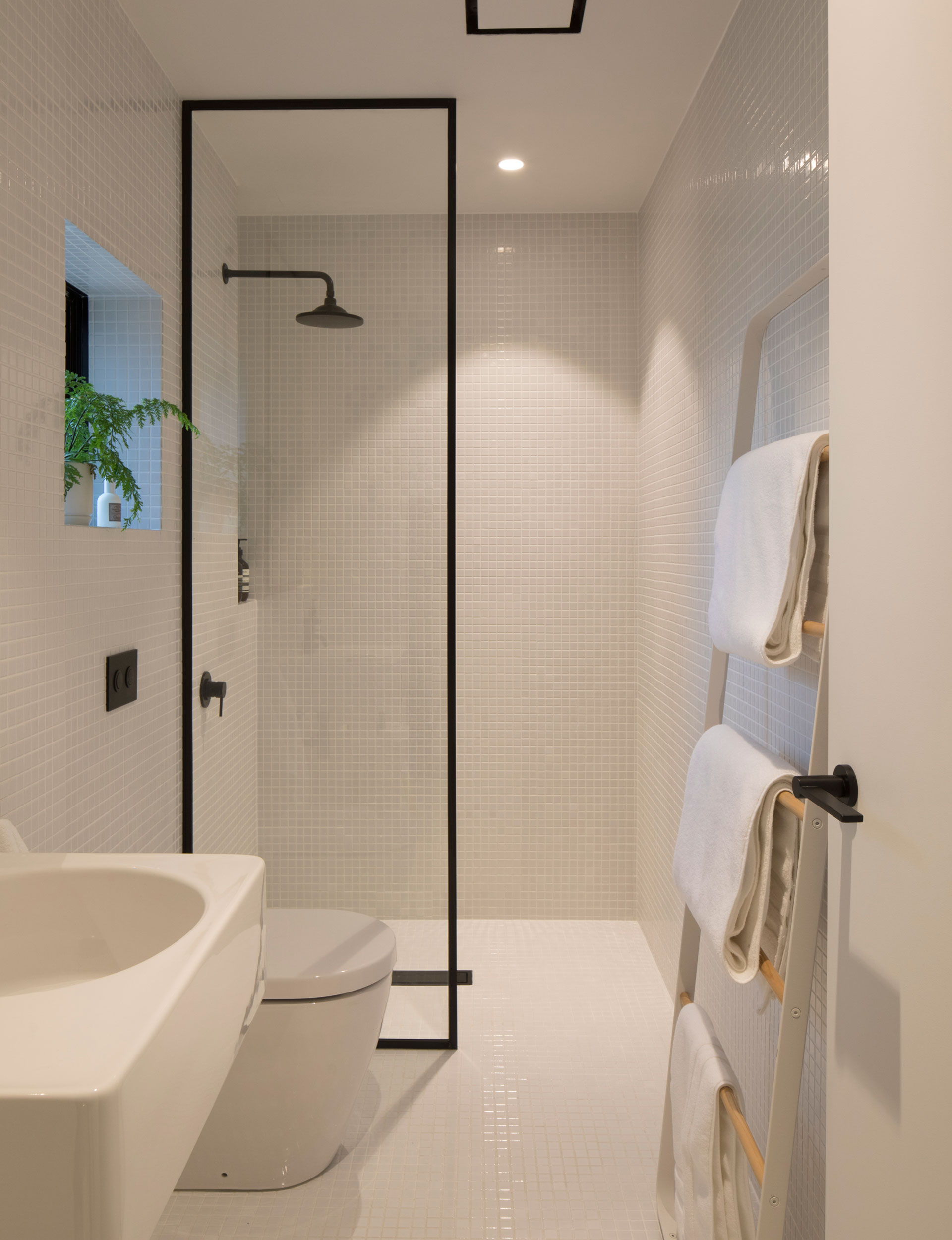 Designer Small Bathrooms How Minimalist Design Took This Small Bathroom To The Next