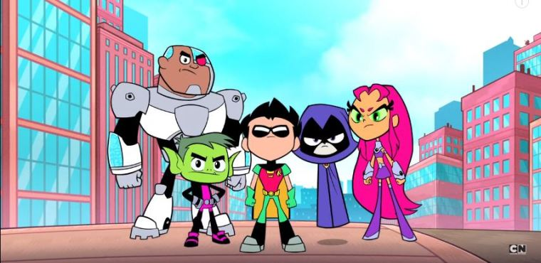 Cartoon Girl Live Wallpaper Icon Teen Titans Go Movie Scheduled For July 2018 Premiere