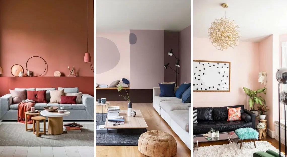 Couleur Chaude Pour Salon | Peinture Maison : 20 Couleurs Tendance ...