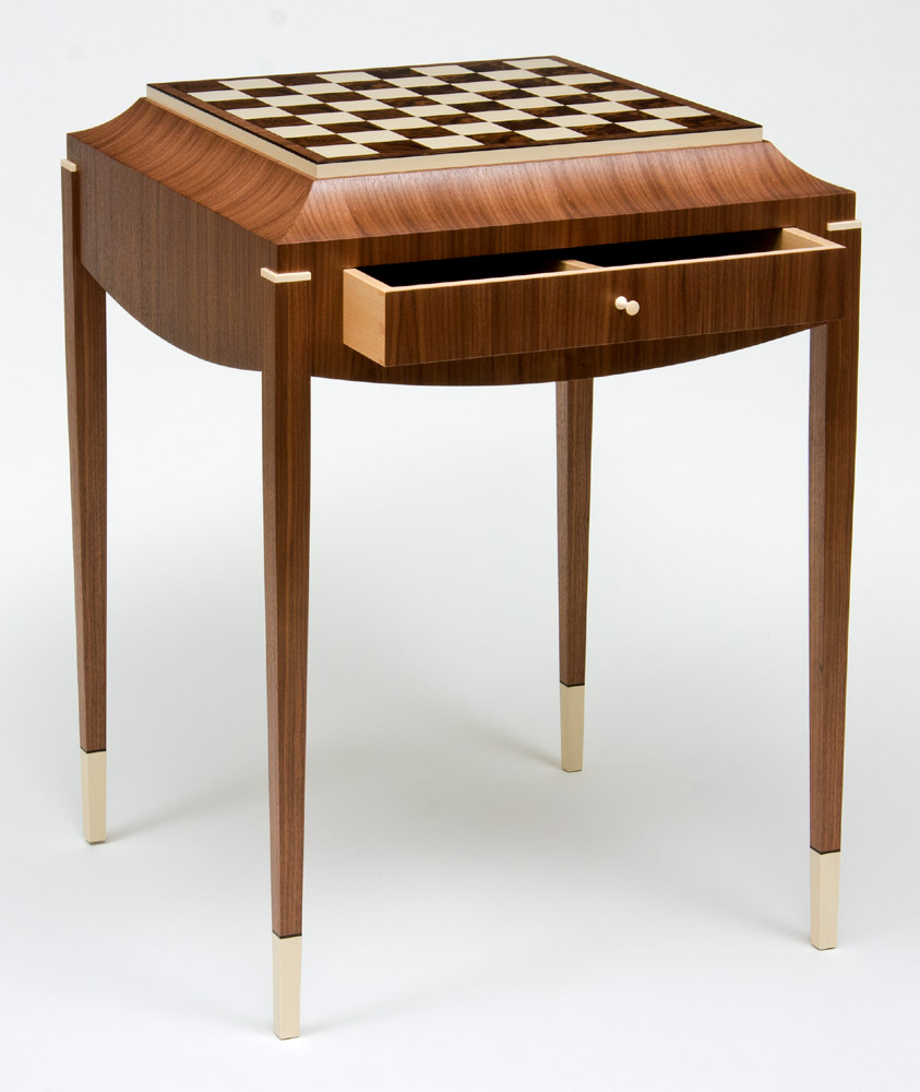 Table Basse Sheesham Art Deco Chess Table 2 Ct Fine Furniture