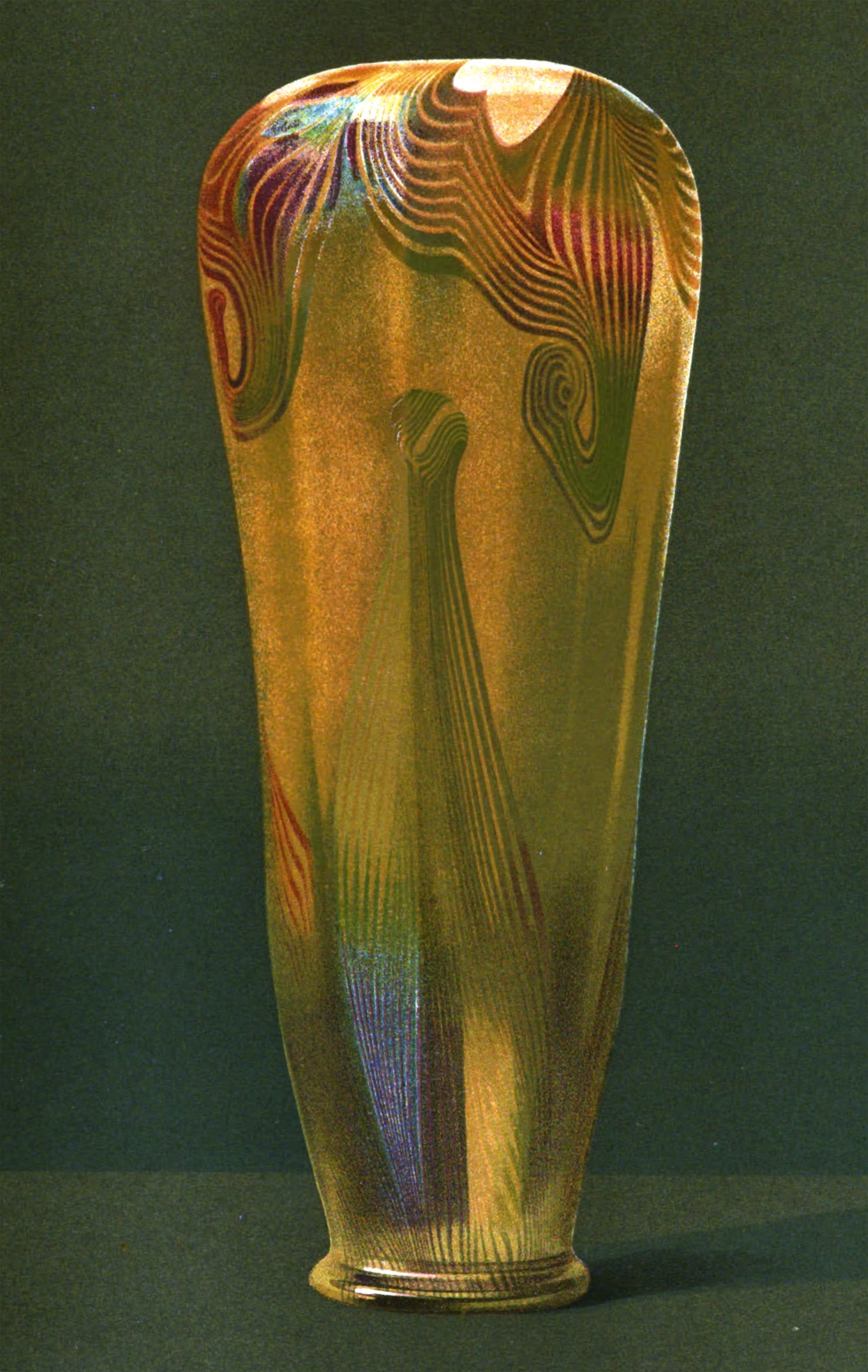 Art Et Decoration Tiffany Vase From Art Et Decoration Circa 1903