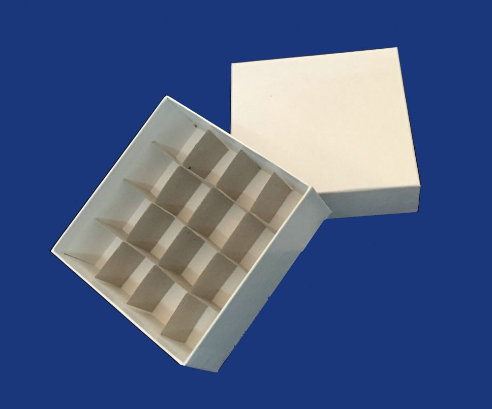 Cardboard Box Dividers 50mm High Cardboard Box With Cell Dividers