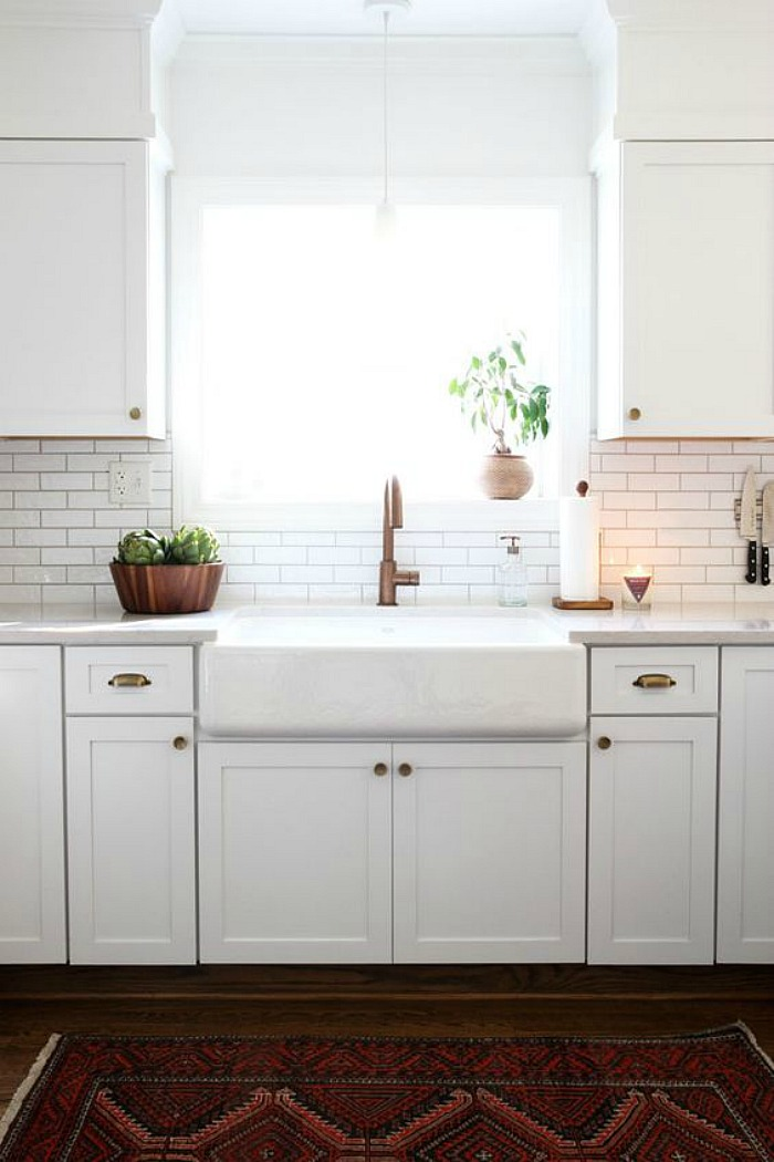 Used Ikea Kitchen Cabinets 25 Gorgeous Kitchens With Farmhouse Sinks - Connecticut In