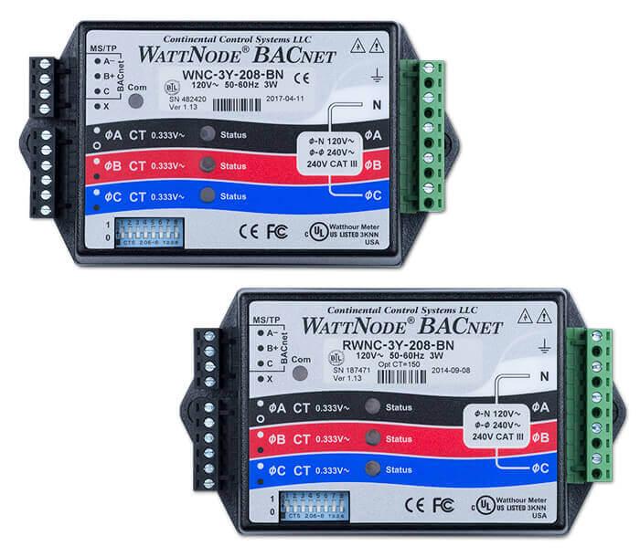 WattNode BACnet \u2013 Continental Control Systems, LLC