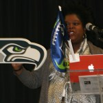 Carmen Husdon, Recruiting Toolbox, Sea Hawks Fan