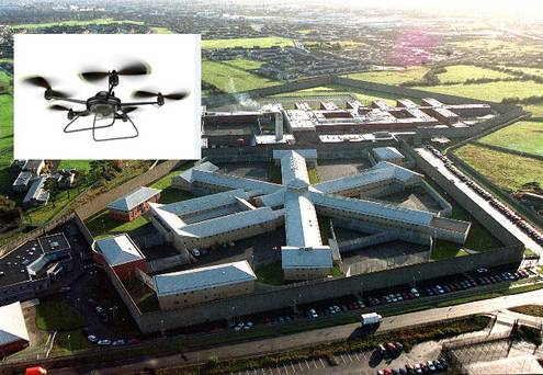 Drones Spots on Prison, What does it want to do?