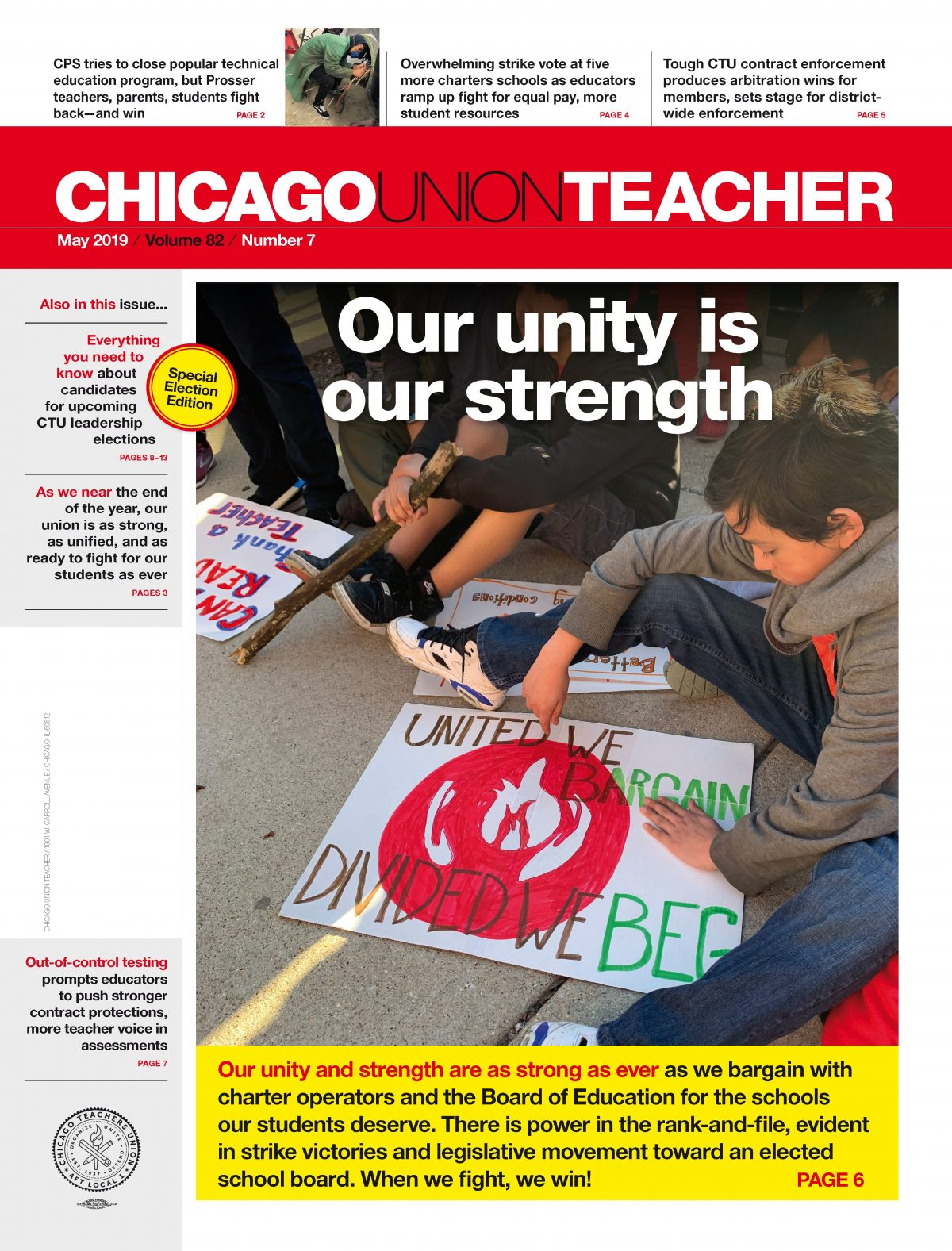 Vol Charter Vol 82 2018 19 Archives Chicago Teachers Union