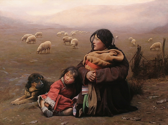 Barry Hay Maternidad En La Pintura China (i) – Motherhood In Chinese