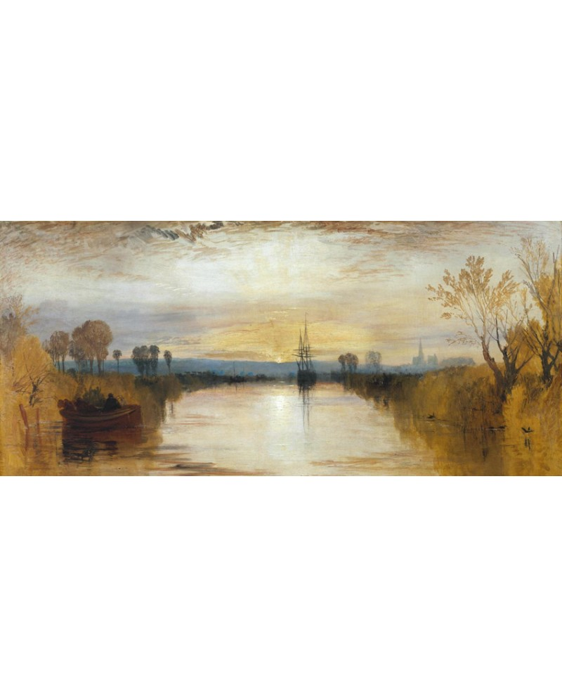 Cuadros Turner William Turner Impresionista Canal Chichester Panoramico