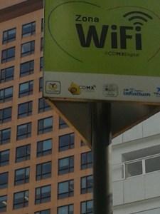 En México DF. encontré conexión Wi-Fi por dondequiera