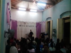 En 76 aniversario de la Iglesia Bautista Ebenezer en Taguayabón