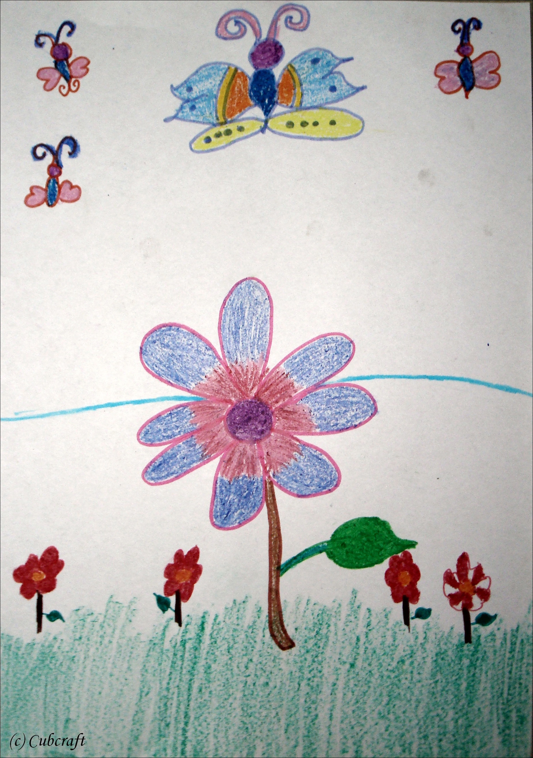My house with garden drawing for kids - Tags Drawing Garden Related For Garden Drawing For Kids My Download