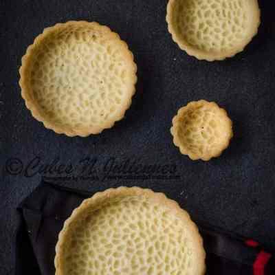 How to make Short crust/ tart dough and Tart Shells
