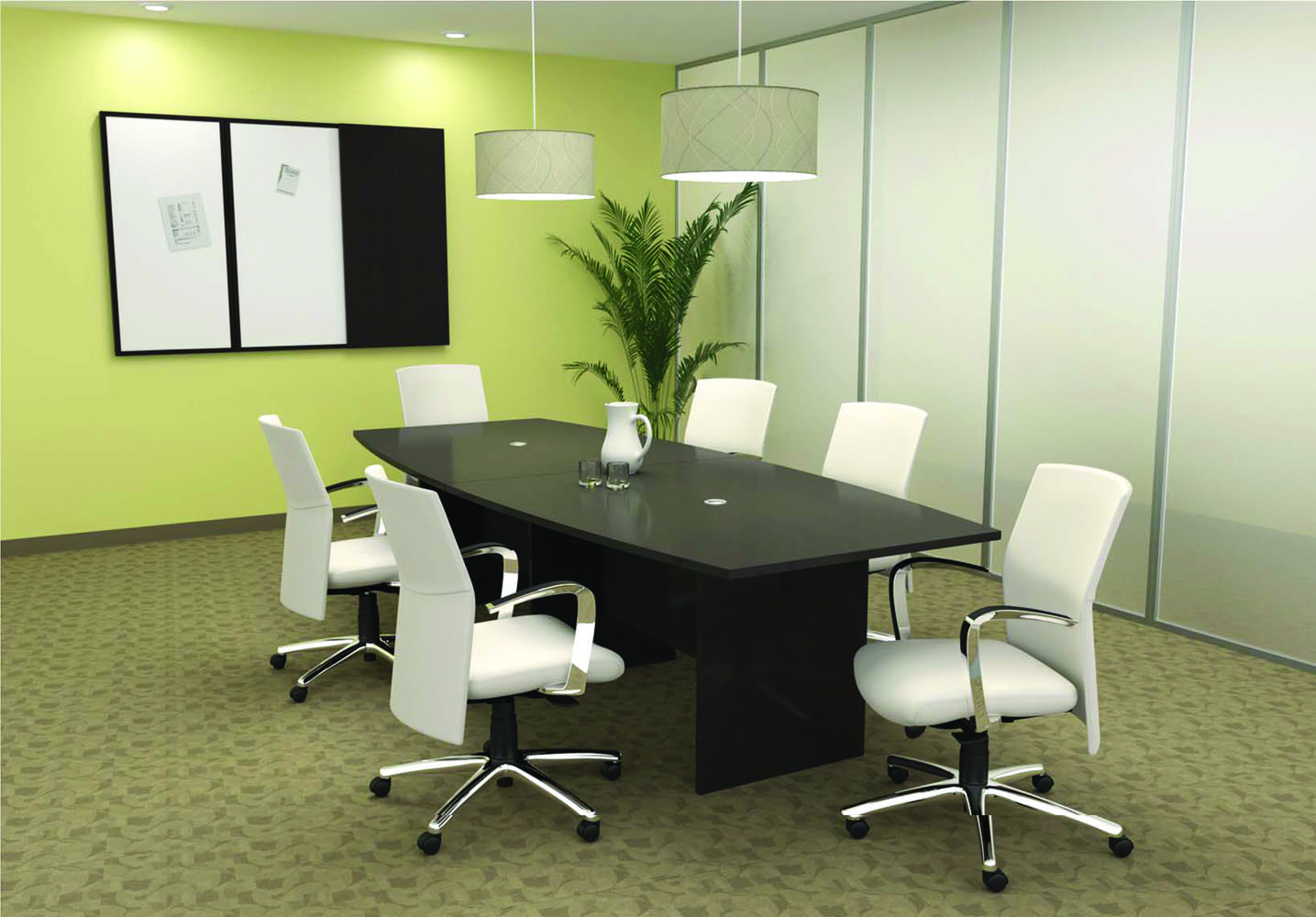 Sofa Convertible Boardroom Table And Chairs - Meeting Room Furniture