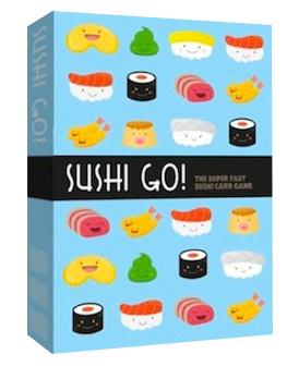 Uno de los diseños preliminares de Sushi Go!