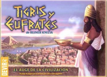 Portada de Tigris y Eúfrates