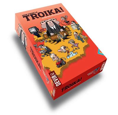 Caja de ¡Que viene la Troika!