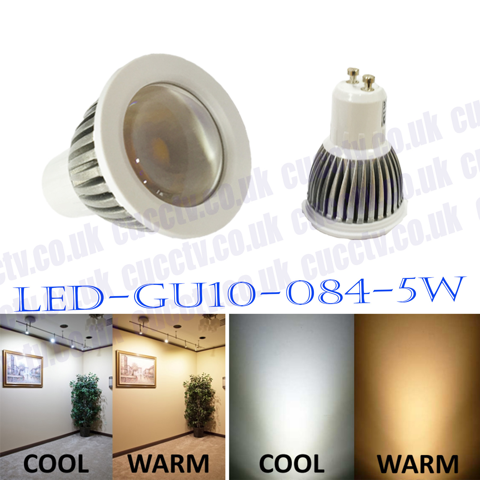 Led Gu10 5w Gu10 5w Led Light Bulb Cool Warm White High Power Energy Saving Led Gu10 084 5w