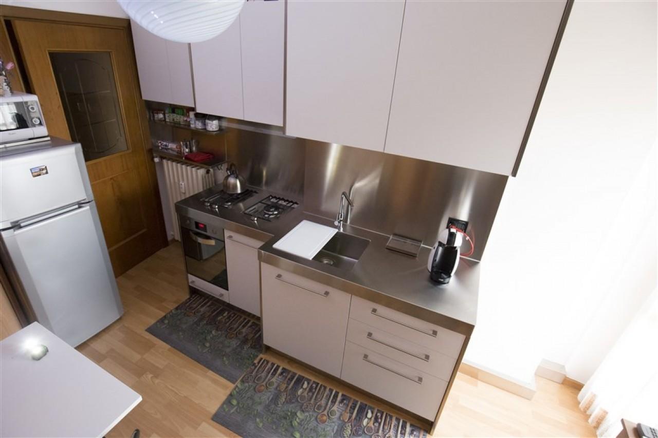 Top Cucina Acciaio   Gallery Of Offerta Cucina High Teak Cucine A ...