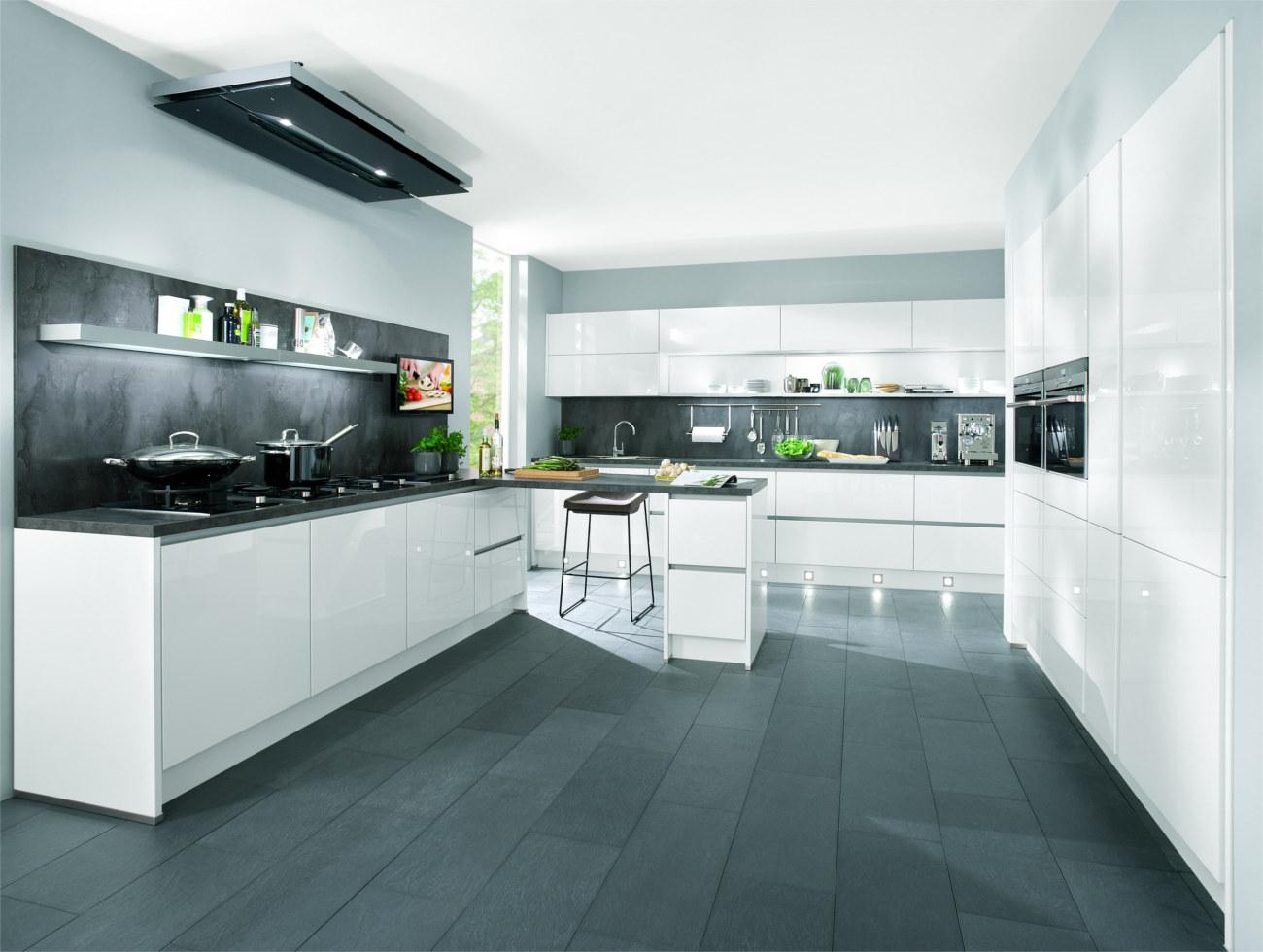 Cucina bianca moderna lucida piastrelle cucina bianca prezzi