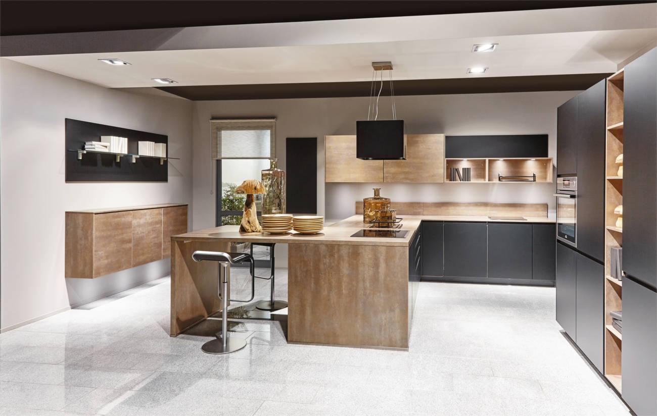 Cucina Open Space   Salotto E Cucina Open Space Elegante 150 Mq ...