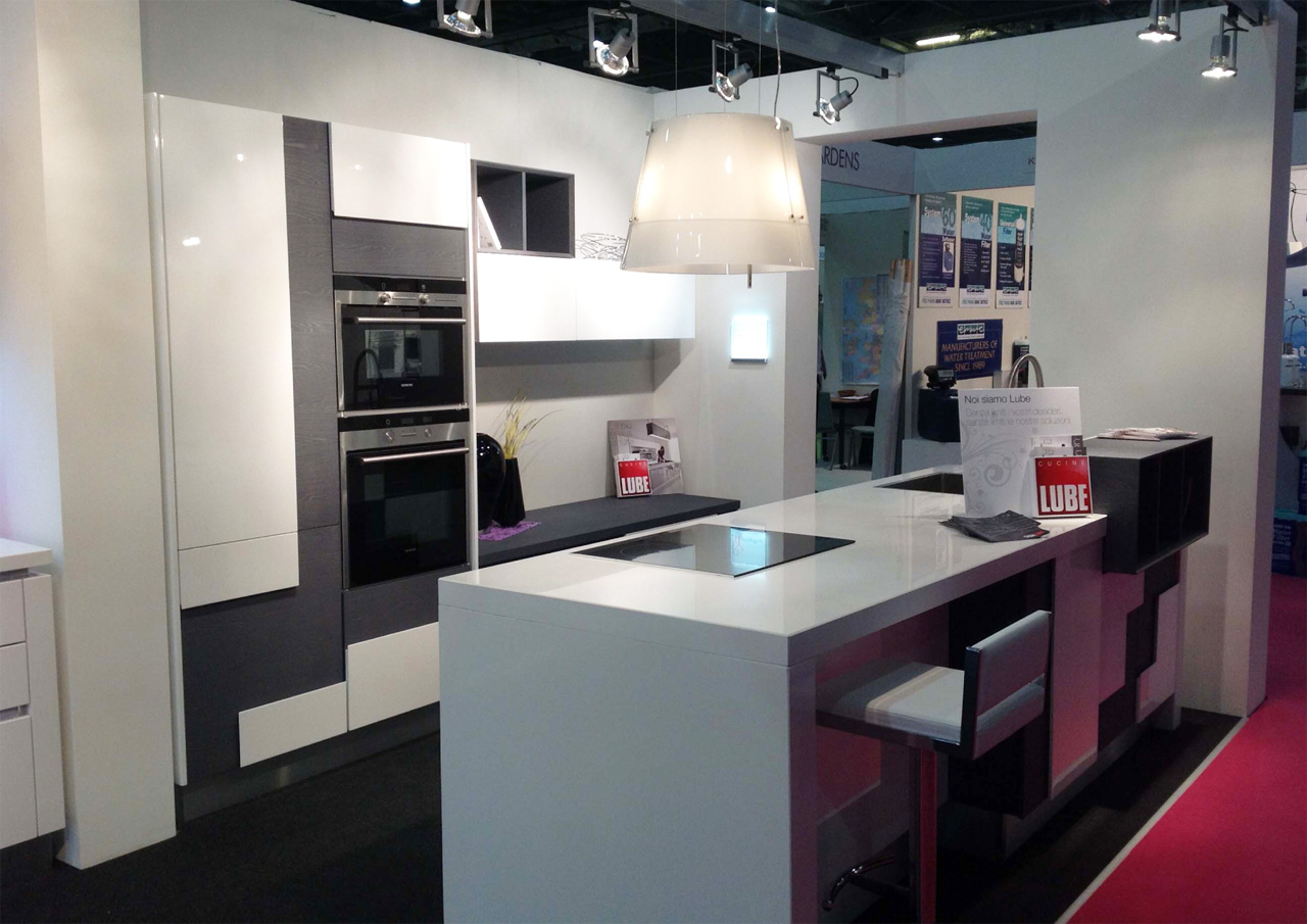 Cucine Lube Design Made In Italy Of Kitchens Lube At The Grand Design Live In London