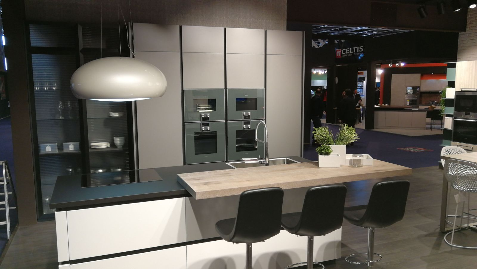 Cucine Lube Design The Design And Quality Of Cucine Lube On Display At The Paris Fair
