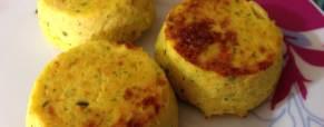 Tortini di verdure allo zenzero e curry