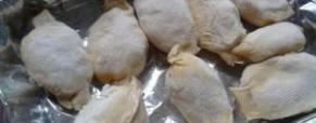 Caramelle salate ripiene – primo piatto per le feste