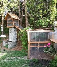 Outdoor Cat Jungle Gym | Cuckoo4Design