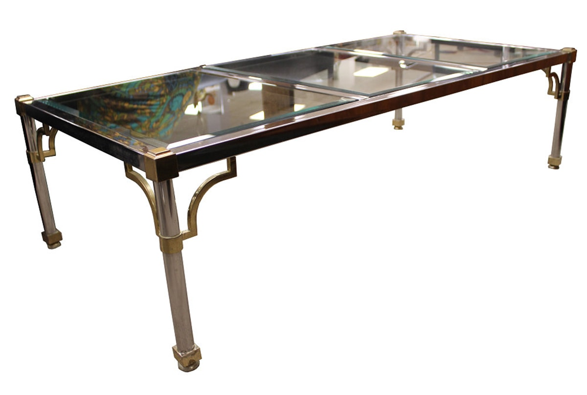 Chrome Coffee Table Friday Etsy Favorites Cuckoo4design