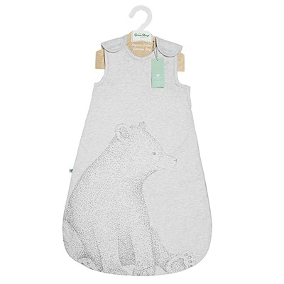 Cotton Baby Sleeping Bag Wild Cotton Organic Baby Sleeping Bag In Bear Design