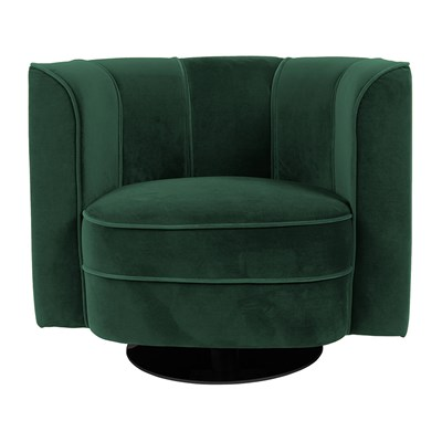 Tub Chairs Dutchbone Art Nouveau Flower Tub Chair In Green