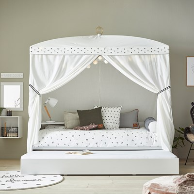 Single Four Poster Bed Lifetime Dottie Four Poster Bed