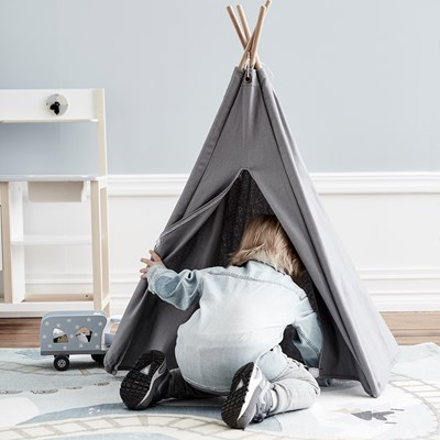 Teepee Kids Children S Mini Teepee Play Tent In Grey