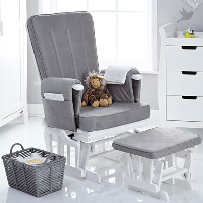 Baby Nursing Chair Obaby Deluxe Reclining Nursing Chair And Stool