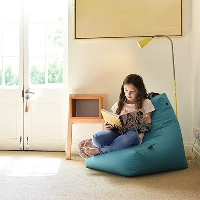 Lounge Sessel Extreme Lounging Extreme Lounging Mini Bean Bag In Aqua