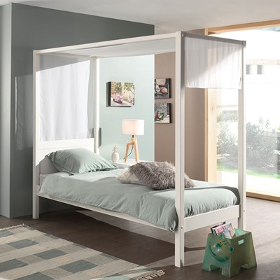 Single Four Poster Bed Pino Four Poster Single Bed