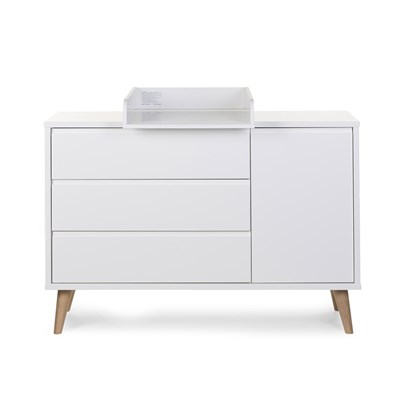 Changing Table Chest Of Drawers Retro Rio Wide Chest Of Drawers With Changing Unit