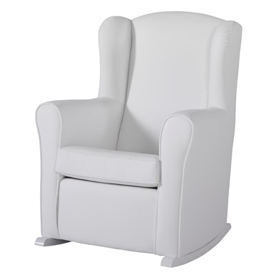 Baby Nursing Chair Nursing Chair In White Leatherette