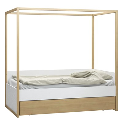 Single Four Poster Bed Vox 4 You 4 Poster Single Bed With Adjustable Height Levels