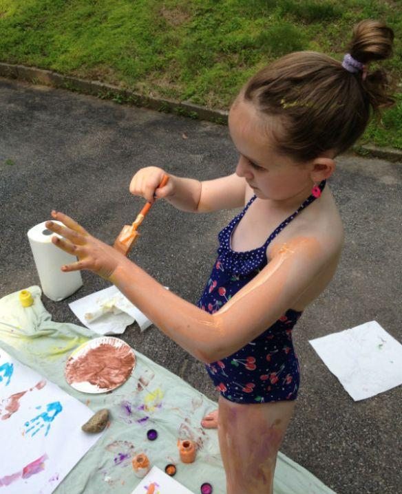 Paint Party: body paint