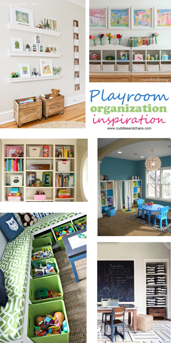 Cuddles and Chaos | Playroom Organization Inspiration
