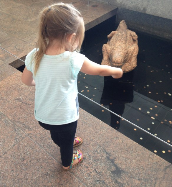 the met with kids: feeding the croc
