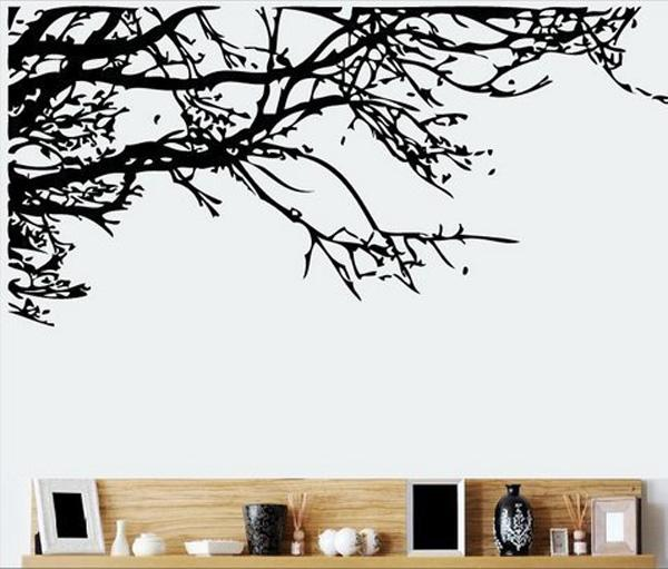 tree branch removable wall art sticker vinyl decal mural home decor pics photos decal vinyl wall decals