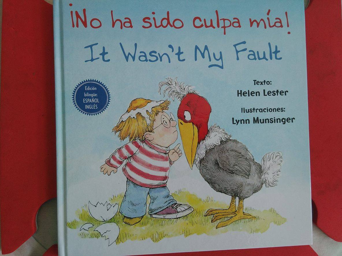 Culpa Mia Libro No Ha Sido Culpa Mía It Wasn 39t My Fault Cuentos De Amatxu